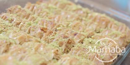 Marhaba Foods – Baklava rolletjes